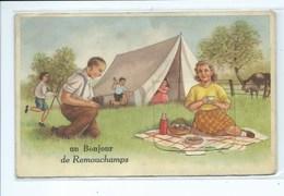 Remouchamps Bonjour ( Carte à Système ) Camping Tente - Aywaille