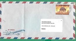 ! - Inde (India) - Enveloppe Avec 1 Timbre - Envoi Vers Bruxelles - Cachet De 19... - Sun Temple, Konark - Inde