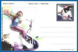 2002 Turkey Winter Olympic Games In Salt Lake City Unused Postal Stationery - Winter 2002: Salt Lake City