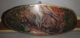 Postoinska Jama Grotte Di Postumia L. 25 CM. LEGNO VINTAGE - Oggetti 'Ricordo Di'