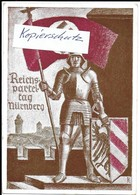 Propaganda, Hitler, Nazi, Drittes Reich, Reichsparteitag, Hakenkreuz, Swastika, Propagandakarte - Weltkrieg 1939-45