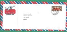 ! - Inde (India) - Enveloppe Avec 1 Timbre - Envoi Vers Ixelles - Cachet De 2007 - Papillon - Inde
