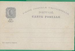 ! - Portugal - Entier Postal Neuf - Timbre De 20 Reis - Union Postale Universelle - Centenario Da India - Enteros Postales