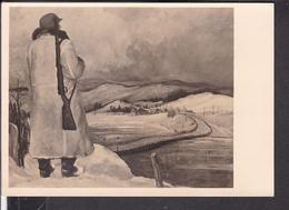 """Postkarte HDK 454 """" Auf Wacht Für Europa """" - Lettres & Documents"""