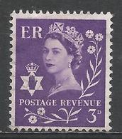 Northern Ireland 1958. Scott #1 (U) Queen Elizabeth II * - Emissions Régionales