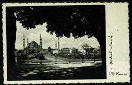 Ref 1255 - Early Postcard - Istanbul Turkey - Full Message On Reverse - Turkey