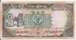 SOUDAN 10 POUNDS 1991 XF+ P 46 - Sudan
