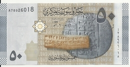 SYRIE 50 POUNDS 2009 UNC P 112 - Syrie