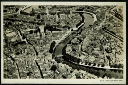 Ref 1255 - Real Photo Postcard - KLM - Aerial View Of Haarlem Netherlands (3) - Haarlem