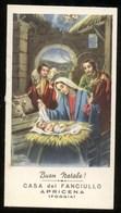 CALENDARIETTO DELLA CASA DEL FANCIULLO DI APRICENA (FOGGIA)  ANNO 1960 - Calendari