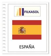 Suplemento Filkasol ESPAÑA Pruebas De Artista 1975-2008 - Montado HAWID Transparentes - Álbumes & Encuadernaciones