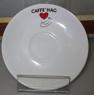 PIATTINO TAZZA CAFFE' HAG - Tazze