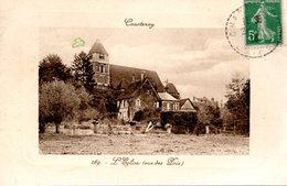 COURTENAY  -  L' Eglise  -  Vue Des Prés  -  N° 269 - Courtenay
