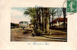 COURTENAY  -  Jolie Carte Couleur  -  Promenade Et Ecole  -  N° 260 - Courtenay