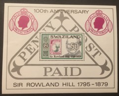 SWAZILAND - MH* - 1979 - # B3 - Swaziland (1968-...)