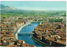 V3549 Pisa - Vista Aerea Del Fiume Arno - Panorama Aereo Aerial View Vue Aerienne / Viaggiata 1970 - Pisa