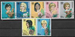 PARAGUAY 1981 ANNO INTERNAZIONALE DEI GIOVANI  YVERT. 1842-1848 USATA VF - Paraguay
