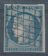 N°4  NUANCE ET OBLITERATION - 1849-1850 Cérès