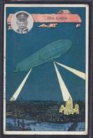 1915 über LONDON UNTERTÜRKHEIM Nach STUTTGART ZEPPELIN - Zeppelins