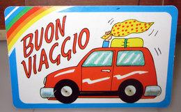 CARD ADESIVA BUON VIAGGIO - Automobili