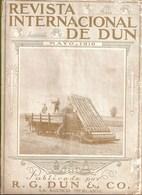 New York Revista Internacional De Dun, 1916 Publicidad Old Cars Vintage Car Voitures Panama España United States America - Zeitungen & Zeitschriften