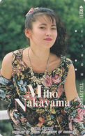 Télécarte Japon / 110-59988 - Femme Cinema - MIHO NAKAYAMA - Music & Actress Girl Japan Phonecard - 3773 - Kino