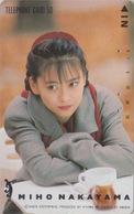 Télécarte Japon / 110-62642 - Femme Cinema - MIHO NAKAYAMA - Music & Actress Girl Japan Phonecard - 3775 - Kino