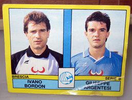 CALCIATORI PANINI 1988-89 N. 400 BORDON - ARGENTESI BRESCIA - Panini