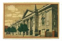 Bytom Beuthen OS Konzerthaus Und Stadttheater 1920 R - Pologne