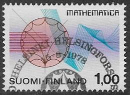 Finland SG936 1978 International Congress Of Mathematicians 1m Good/fine Used [39/31798/6D] - Finland