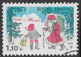 Finland SG1068 1984 Christmas 1m.10 Good/fine Used [39/31800/6D] - Finland