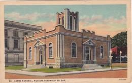 South Dakota Deadwood Adams Memorial Museum Curteich - Verenigde Staten