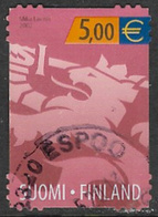 Finland SG1670 2002 Competition Entry €5 Good/fine Used [39/31753/6D] - Finland