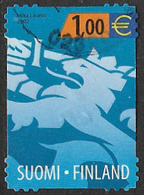Finland SG1669 2002 Competition Entry €1 Good/fine Used [13/13861/6D] - Finland