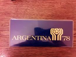 JUEGO COMPLETO DE 6 MONEDAS DE ARGENTINA DEL AÑO 1978 MUNDIAL ARGENTINA-78 (COIN) PLATA,SILVER,ARGENT. - Argentine