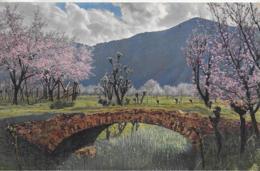 AK 0114  Obstblüte In Tirol ( Steinbrücke ) - K. K. Österreich Um 1915 - Brücken