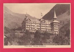 Old Post Card Of Fluhli-Ranft,Kurhaus Nunalphon, Obwalden, Switzerland,Y1. - OW Obwalden