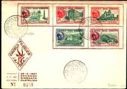 74791)  ETIOPIA:-FDC- 1957 Antiche Capitali  SERIE COMPLETA - Etiopia