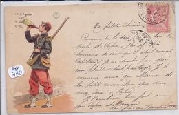 MILITARIA- LE VIN D ALGERIE ET UN ADEPTE MILITAIRE- ILLUSTRATION- - Regiments