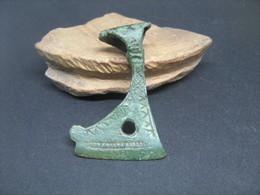 "Ancient Bronze Amulet ""Axe"" Viking Kievan Rus 9-11 AD - Archaeology"