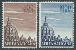 1953 VATICANO POSTA AEREA CUPOLA BASILICA DI SAN PIETRO MNH ** - E151 - Posta Aerea