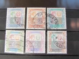 ITALIA USATI - LOTTO 6 FRANCOBOLLI ANNO 2002 - 6. 1946-.. Repubblica