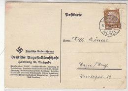 Karte Der DAF Aus HAGEN 16.4.34 - Briefe U. Dokumente