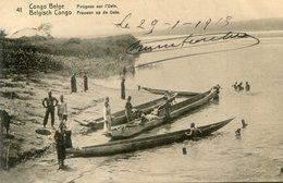 CONGO BELGE(PIROGUE) - Congo Belga - Otros