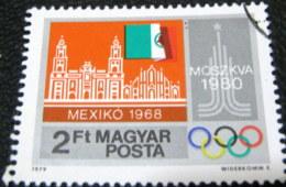 Hungary 1979 Pre-Olympic Year Mexiko 2ft - Used - Hungary