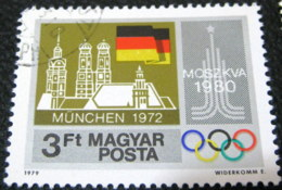 Hungary 1979 Pre-Olympic Year Munchen 3ft - Used - Hungary