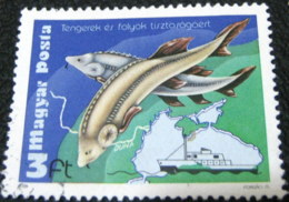 Hungary 1979 Environmental Protection Rivers And Seas 3ft - Used - Hungary