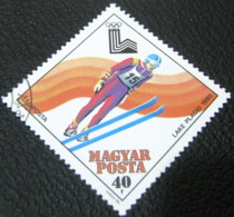 Hungary 1979 Winter Olympics Lake Placid 40f - Used - Hungary