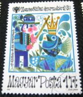 Hungary 1979 International Year Of The Child 1ft - Used - Hungary