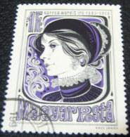 Hungary 1980 Centenary Birth Margit Kaffka 1ft - Used - Hungary